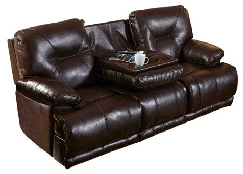 reclining sofa with drop console catnapper mercury lay flat reclining sofa with 3x recliner
