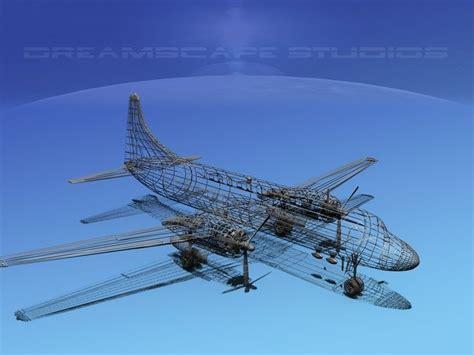 convair cv 340 velocity air cargo 3d model rigged max obj 3ds lwo lw lws dxf stl cgtrader