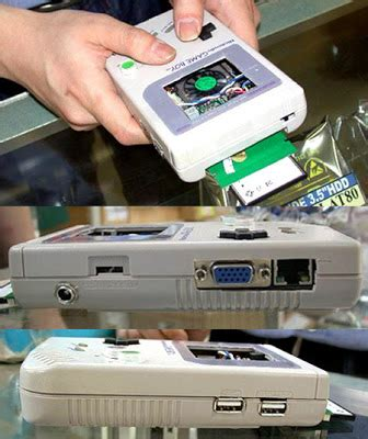 game boy case mod gaming on the go the game boy pc mod thingy