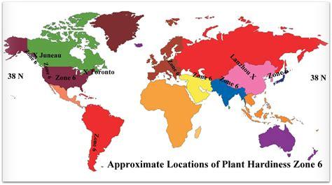 garden zone 6 zone six usda plant hardiness world view