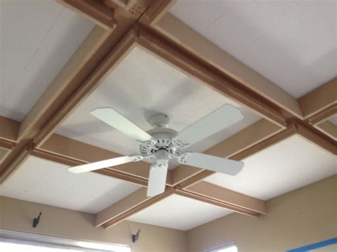 Inlay Ceiling Contemporary Ceiling Beams With Crown Molding Inlay