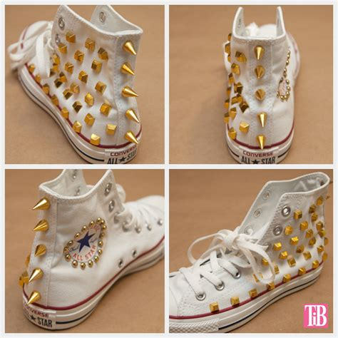 diy studs on shoes diy studded converse
