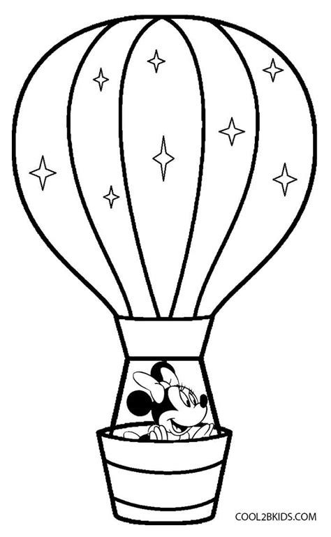 printable hot air balloon coloring pages  kids coolbkids