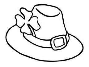 hat coloring leprechaun hat coloring pages st s day