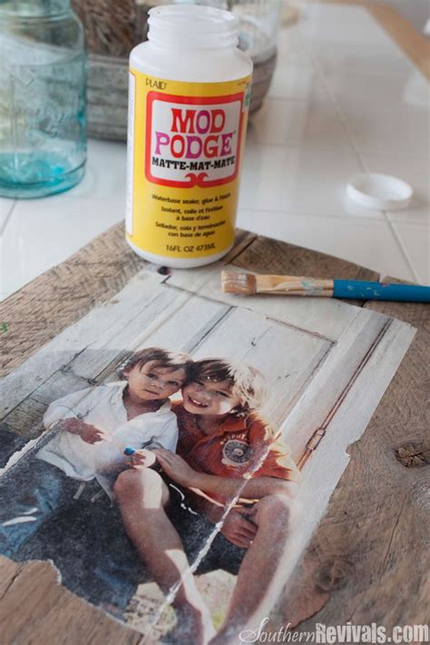 Decoupage Modge Podge - cool and easy diy mod podge crafts
