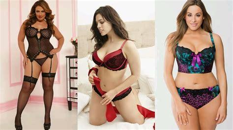 ropa interior sexy para gorditas lingeria plus size 2016 ropa intima de moda youtube