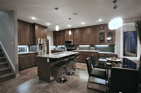 home design stores edmonton cameron model show home contemporary kitchen