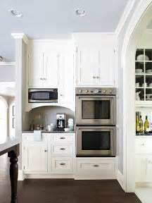 kitchen nook cabinets built in microwave nook design ideas