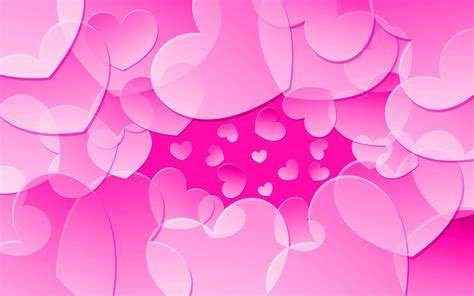 pink wallpaper decor pink heart wallpapers wallpaper cave
