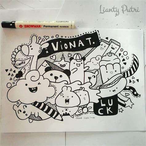 doodle bts instagram update ngedoodle lagi coretannya lianty putri