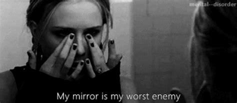 black mirror depressing black and white depressed depression self hate bathroom