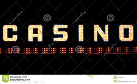 Lights Casino by Casino Neon Sign Stock Image Image 14564541