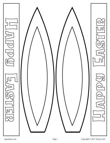bunny ears headband template easter bunny ears free printable activity craft