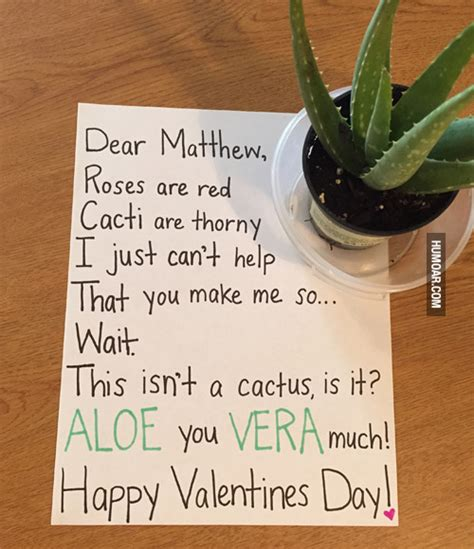 valentines day note clever happy s day note humoar