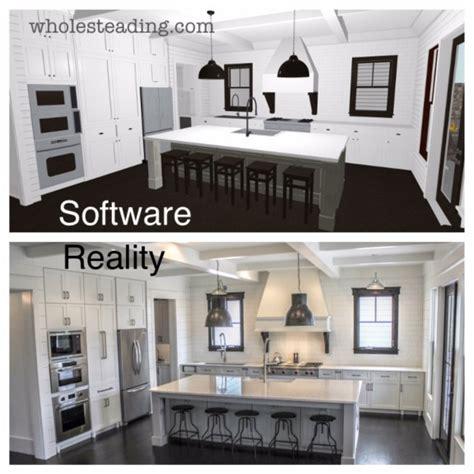 home design software joanna gaines farmhouse dream kitchen wholesteading com