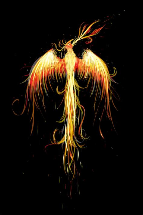 phoenix rising by spawntempest on deviantart