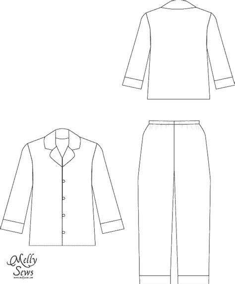 pajama template pajama day coloring pages coloring pages