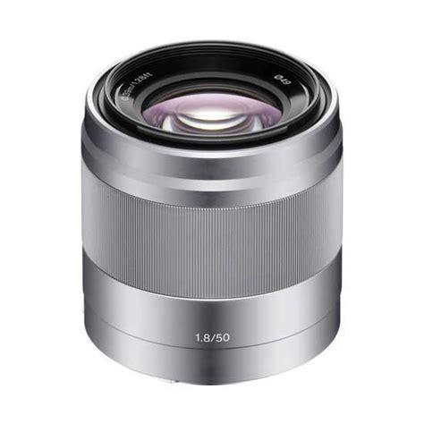 Lensa Sony E 35mm F1 8 Oss jual lensa sony e 50mm f 1 8 oss silver harga murah