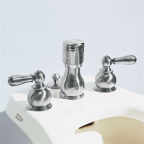 American Standard Bidet Faucet Parts by American Standard 7391 733 295 Hton Bidet Faucet Satin