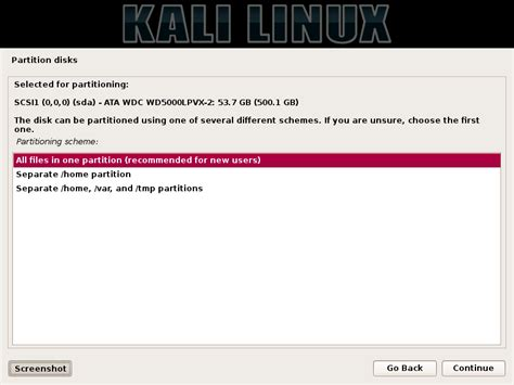 tutorial cara install kali linux tutorial cara install kali linux dual boot dengan windows