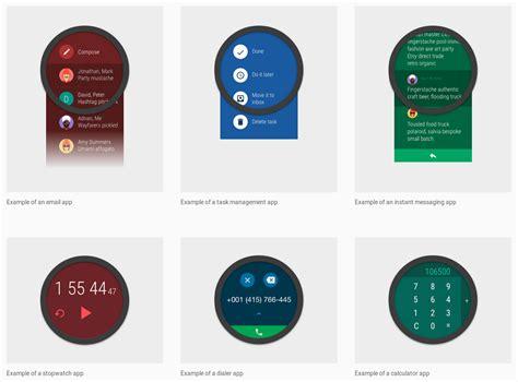 layout android wear google releases material design guidelines for creating