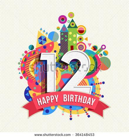 12 happy birthday cake vector images happy birthday cake 12 birthday stock photos images pictures shutterstock