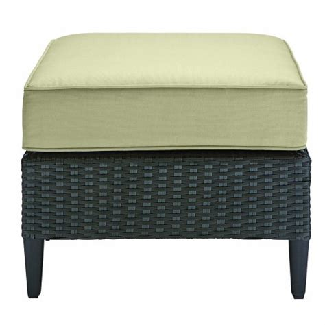 Outdoor Ottomans On Sale Buy Best Outdoor Patio Cascadia Wicker Ottoman Wicker Ottoman On Sale