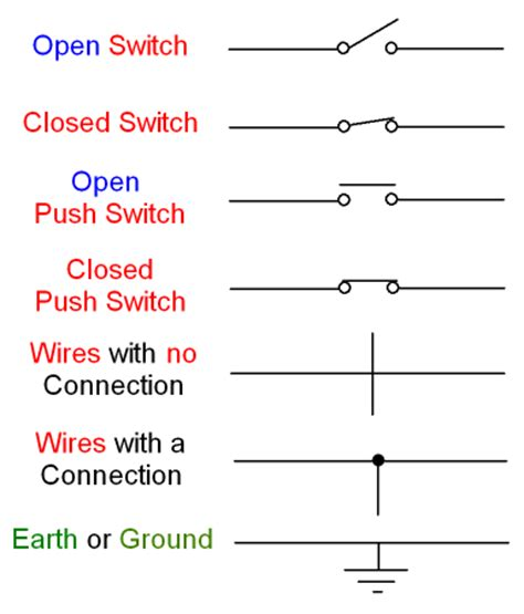 electrical schematic symbols thermal switch get free