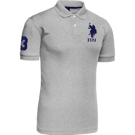 T Shirt Original mens polo tshirt top designer us polo assn original t