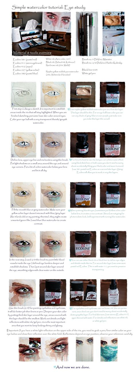 watercolor eyeshadow tutorial watercolor eyes tutorial www pixshark com images