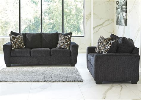 Wcc Furniture by Wcc Furniture Lafayette La Wixon Slate Sofa And Loveseat
