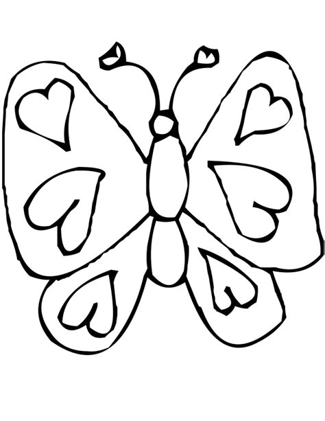 coloring pages of hearts and butterflies free coloring pages of heart and butterfly