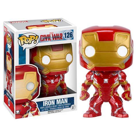 Funko Captain America Civil War Iron Pop Vinyl 7224 marvel s captain america civil war funko checklist