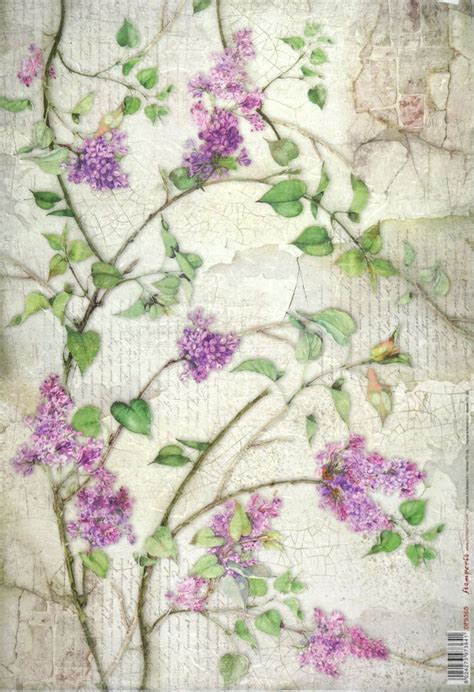 Craft Rice Paper - rice paper for decoupage decopatch scrapbook craft sheet