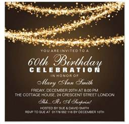Invitation Letter For 60th Birthday 22 60th Birthday Invitation Templates Free Sle Exle Format Free Premium