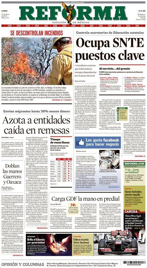 reforma portada image gallery periodico reforma