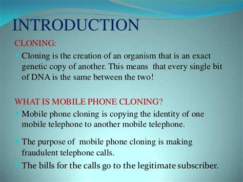 mobile sim cloning mobile phone cloning