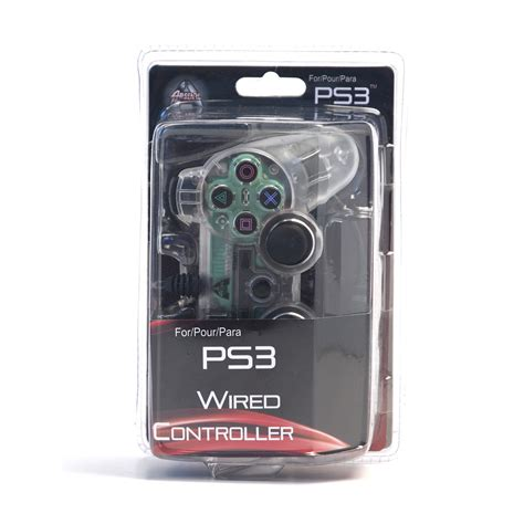 ps3 controller light codes arsenal gaming ps3 wired controller clear with lights