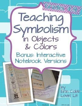 Teaching Symbolism In Literature Worksheets by 17 Best Images About Teaching Symbolism On