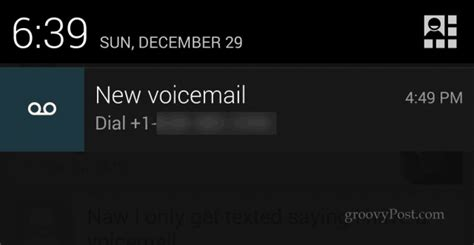 remove the annoying voicemail notification in android - Android Voicemail Notification