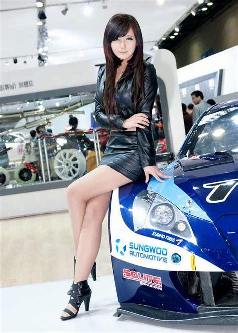 motor corporation presented  cars asian racing girls