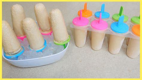 hacer paletas c 243 mo hacer paletas heladas de man 237 helados de man 237 youtube