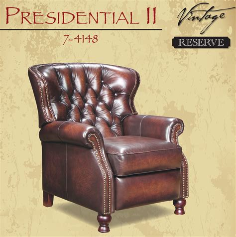 barcalounger presidential leather recliner barcalounger presidential ii leather recliner chair