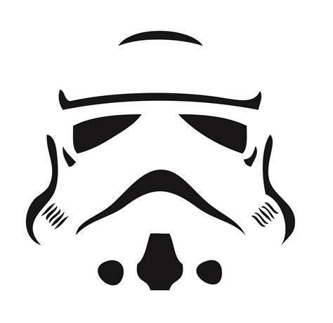 Stormtrooper Template stormtrooper helmet outline images