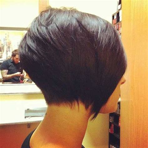 one side stack sassy bob bllack hair 15 shaved bob hairstyles ideas bob hairstyles 2017