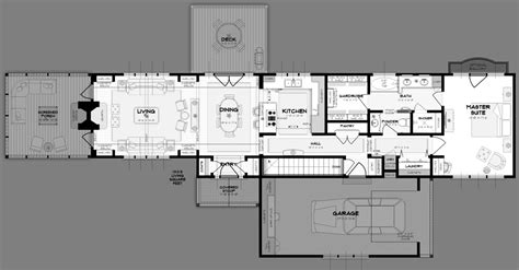 shallow house plans house plans for wide shallow block house design plans
