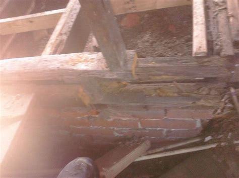 Repair Bathroom Floor Rotted Repairing A Rotted Wall Or Floor Joist