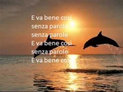 senza parole vasco lyrics ciao vasco testo lyric