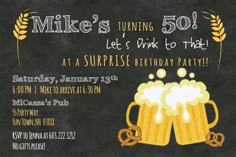 50th birthday invitation wording ideas dolanpedia