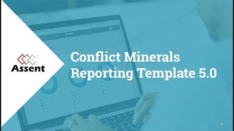 Webinar Conflict Minerals Reporting Template 5 0 Youtube Conflict Minerals Reporting Template Exle